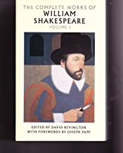 THE COMPLETE WORKS OF WILLIAM SHAKESPEARE VOLUME 1 Edited by David Bevington - LOVE'S LABOR'S LOST, THE COMEDY OF ERRORS, THE TWO GENTLEMEN OF VERONA, HENRY VI (pt 1,2,3), RICHARD III