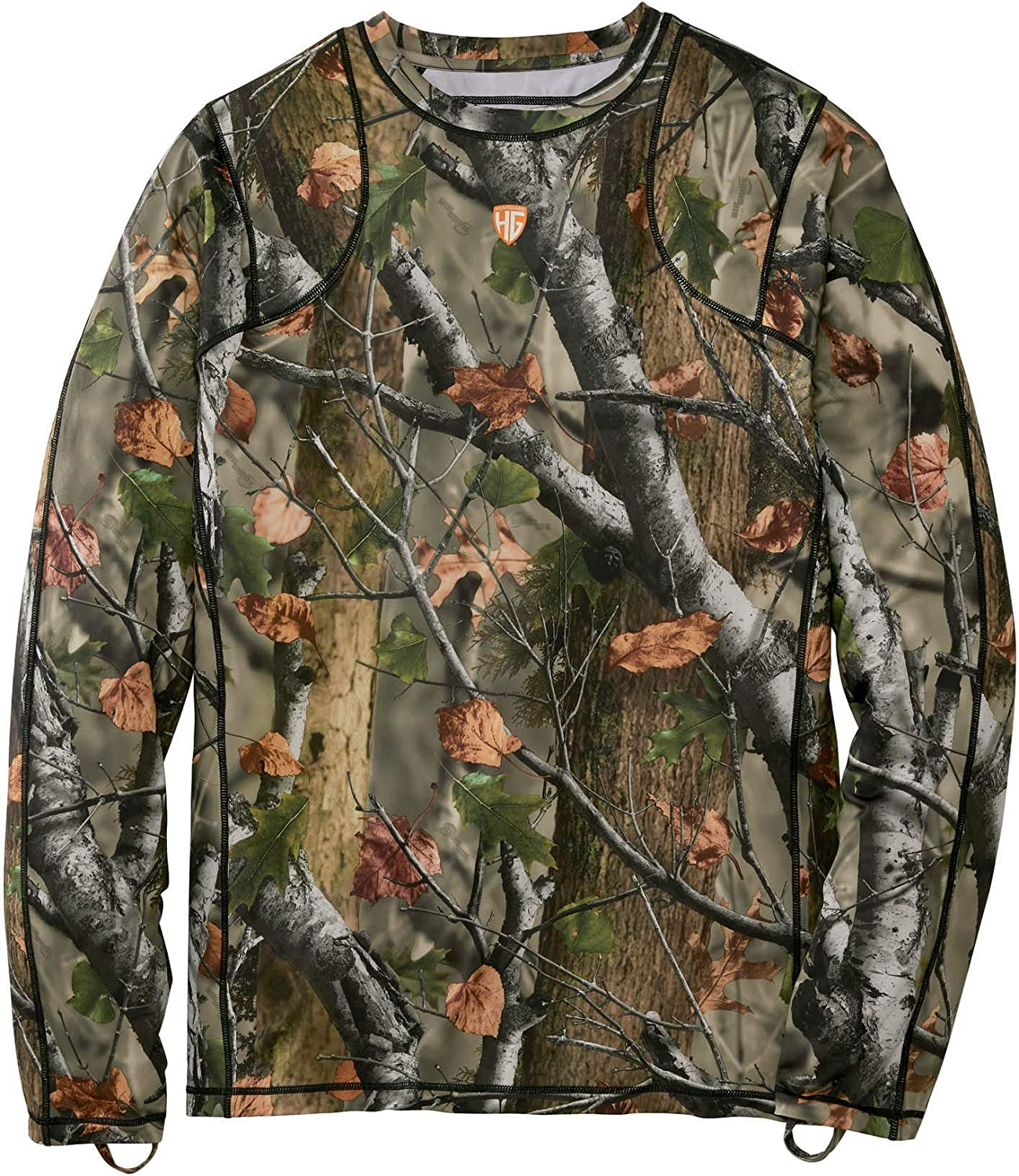 Legendary Whitetails Men's Huntguard NEW before selling ☆ Padded Large special price Crew Sleeve Long Shi