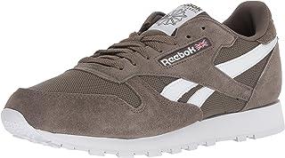 Reebok Men's Classic Leather Walking Shoe, Estl-Terrain Grey/White