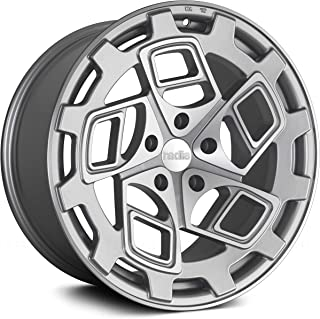 Radi8 R8Cm9 Сustom Wheel - Matte Silver with Machined Face 19