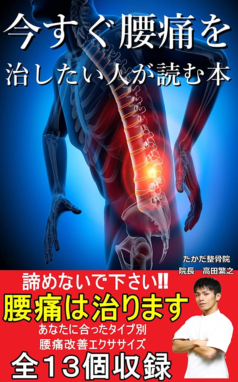 以上看板隠された今すぐ腰痛を治したい人が読む本: 諦めないでください腰痛は治ります!