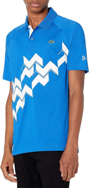 Lacoste Men's Sport Short Sleeve Novak Court Djokovic D Gifts Houston Mall Ultra on