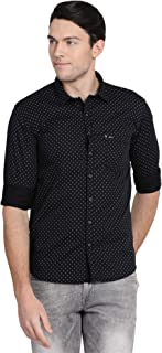 Pan America Men's Printed Slim Fit Casual Shirt
