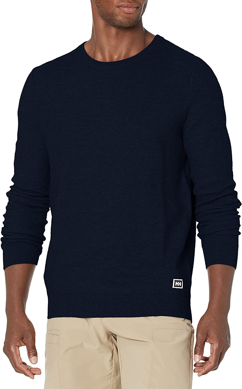 Ranking TOP17 Helly-Hansen Men's Skagen Cotton Popularity Marine Knit Sweater