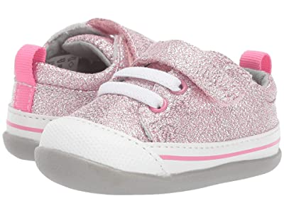 See Kai Run Kids Stevie II (Infant/Toddler) (Pink Glitter) Girl