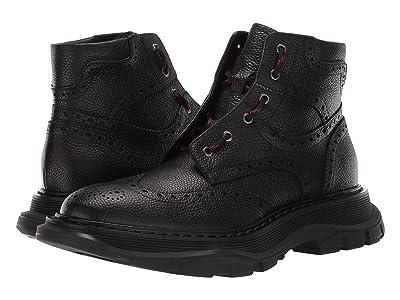 Alexander McQueen Oversized Boot (Black) Men