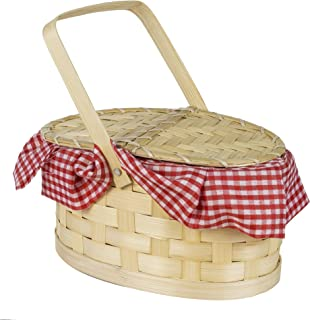 amscan 845342 Picnic Style Costume Purse - 1 Basket, Multicolor, One Size