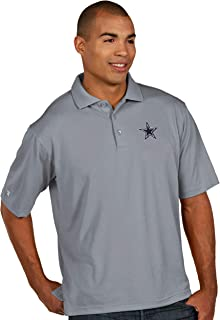 Dallas Cowboys NFL Mens Antigua Pique Xtra Lite Polo