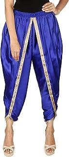 Khazana Basics Women's Satin Silk Dhoti Pant