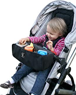 J.L. Childress Food 'N Fun Stroller Snack Tray, Black