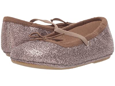 Old Soles Cruise Ballet Flat (Toddler/Little Kid) (Glam Chocolate) Girls Shoes