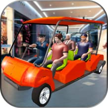 Shopping Mall Smart Taxi Car Driving and Parking Game