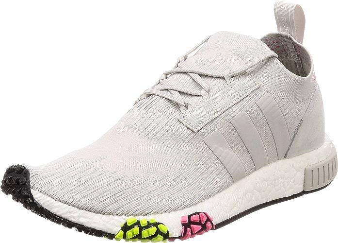 Adidas Originals NMD_Racer PK, gris One-gris One-Solar rose