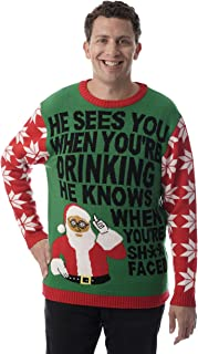 #followme Mens Ugly Christmas Sweater - Sweaters for Men