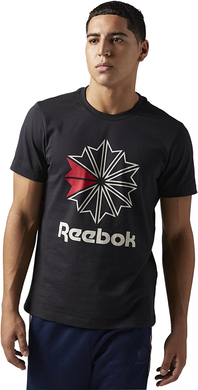 reebok mens t shirts
