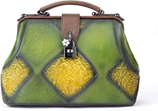 Retro Vintage Leder Handtasche Handgemachte Satchel Designer Schultertasche Krankenschwester Arzt Casual Style