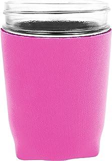 Jar-Z Mason Jar Jacket, 16 oz, Pink