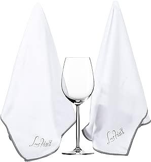 wine glass drying cloth