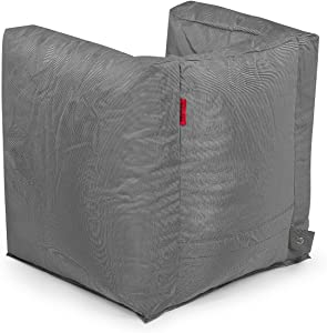 Pushbag Sitzsack Valley Fabric (100% Polyester), 90x60x65cm, 500l, anthrazit