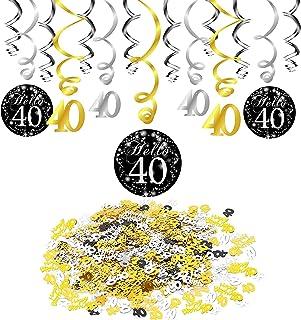 Amazonfr Decoration Anniversaire 40 Ans
