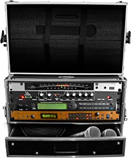 "$164 » ProX XS-WM4U2DR 4U Rack Case w/ 4U Rack Drawer For 19"" Amps/Mixers/Mic Receiver"
