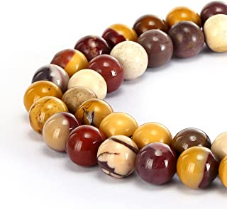 natural gemstone round spacer loose beads