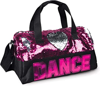 DansBags Sequin Dance Heart Duffle Bag - B842