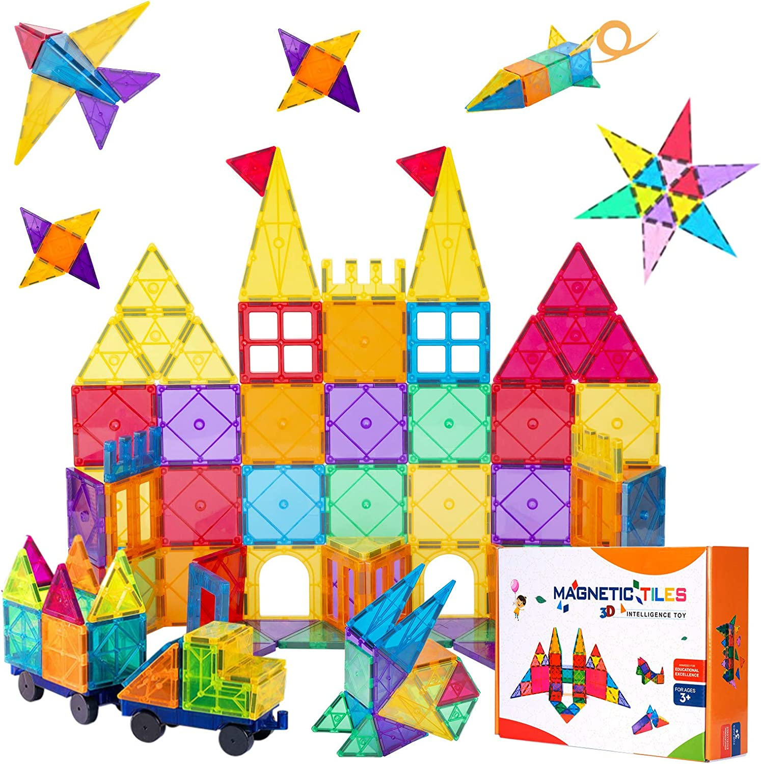 Ranking TOP19 nuosife 100PCS Mesa Mall Magnetic Building Oversize To 3D Blocks
