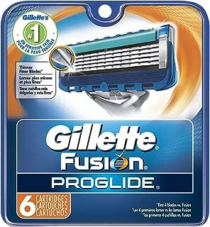 Gillette Fusion ProGlide Manual Men's Razor Blade Refills, 6 Count, Mens Razors/Blades
