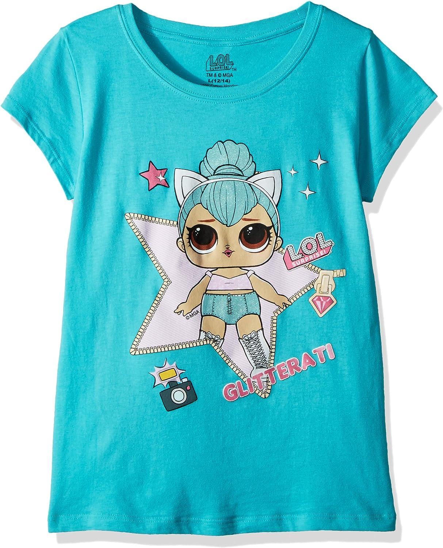 LOL Surprise Camiseta de Manga Corta para ni/ñas