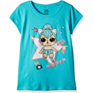 L.O.L. Surprise! Girls' The Glitterati Kitty Queen Short Sleeve T-Shirt