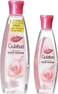 Dabur Gulabari Rose Water, 250ml with Free Rose Water, 120ml