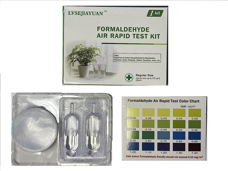 Formaldehyde Air Rapid Test Save money Kit Testing 5th Ind DIY Manufacturer OFFicial shop Generation