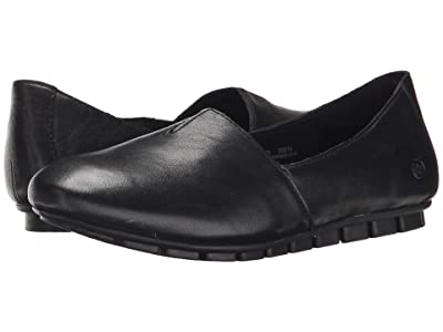 Born Sebra (Black Full Grain Leather) Women