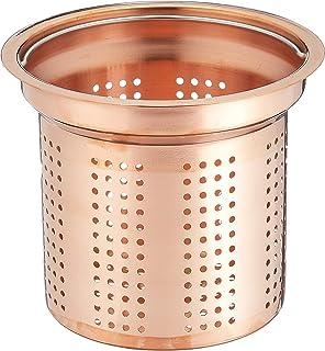 パール金属 日本製 純銅 排水口 水切り かご 13.5cm アクアスプラッシュ H-9168