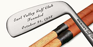 Eureka Golf Products Engraved Classic Hickory Golf Clubs