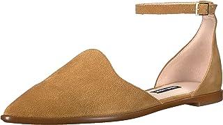 Nine West Women's ORIONA Leather Flat Sandal