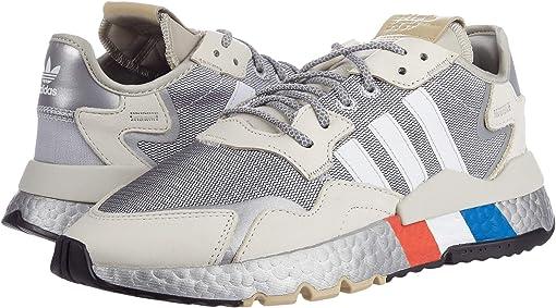 Silver Metallic/Footwear White/Alumina