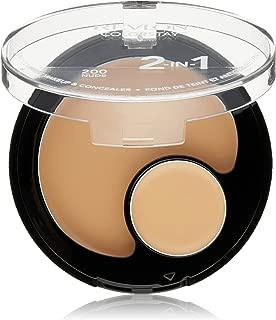 Revlon ColorStay 2-in-1 Compact Makeup & Concealer, Nude