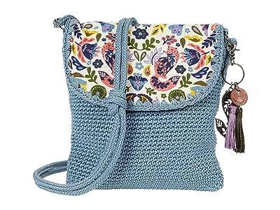 Sakroots Sayulita Crochet Flap Crossbody
