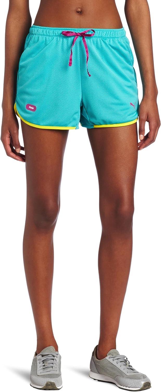 PUMA Apparel Women's mesh Shorts Faas New life Max 40% OFF