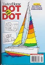 Taste of Home Dot to Dot Magazine Sailboat Cover 2018
