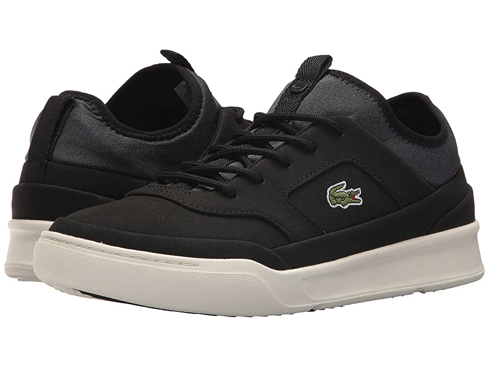 Lacoste Explorateur Crftsp 118 1 (Black/Off-White) Men