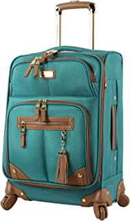 Steve Madden Designer 20 Inch Carry On Luggage Collection - Lightweight Softside Expandable Suitcase for Men & Women - Dur...