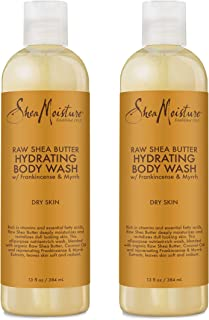 Shea Moisture Raw Shea Butter Body Wash-13 oz (2 pack)