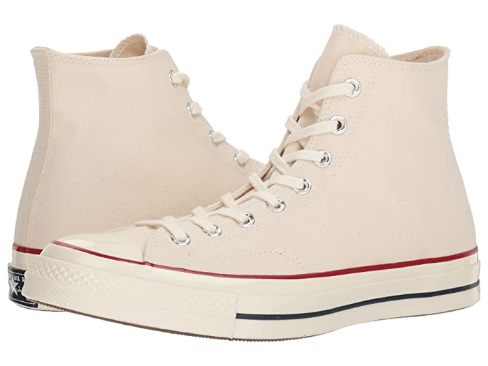 Converse Chuck Taylor All Star 70 Hi (Parchment/Garnet/Egret) Athletic Shoes