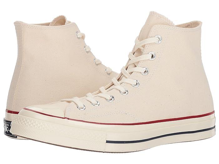 Converse  Chuck Taylor All Star 70 Hi (Parchment/Garnet/Egret) Athletic Shoes