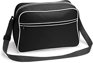 Bag Base TASCHE Retro Shoulder / Polyester / 40x28x18 cm / Black / 684.29