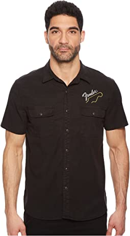 Lucky Brand - Fender Embroidered Shirt