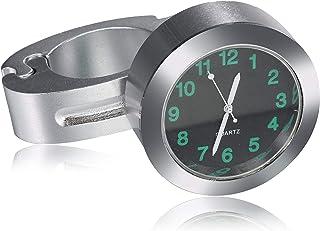 "Universal Waterproof Motorcycle Handlebar Mount Clock Fit 7/8"" or 1"" Handlebar Watch for Harley/honda/yamaha/street Bike"